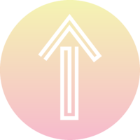 Additional graphics_arrow in gradient circle_RGB