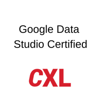 CXL - Google Data  Studio
