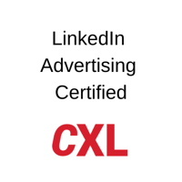 CXL - LinkedIn Advertising