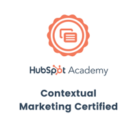 Hubspot - Contextual Marketing Certified