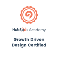 Hubspot - Growth Driven Design Certified