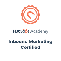 Hubspot - Inbound Marketing Certified