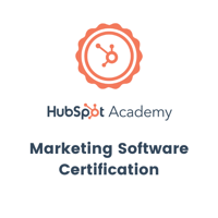 Hubspot - Marketing Software Certification
